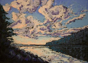 Across the Narrows - 10x13 inches