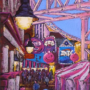 Carnival Colours-11x18 inches