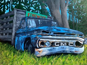 Sad Truck Revistited - SOLD